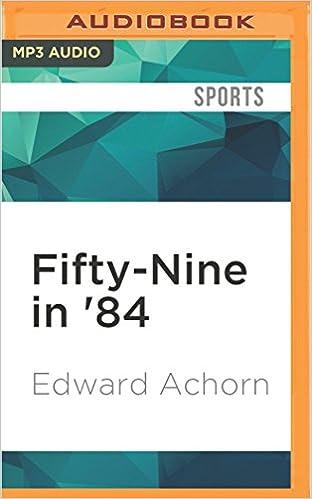 Amazon Fifty Nine In 84 0889290466020 Edward Achorn Ax
