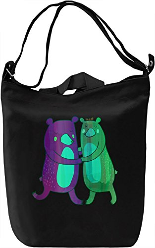 All You Need Is Love Borsa Giornaliera Canvas Canvas Day Bag  100% Premium Cotton Canvas  DTG Printing 