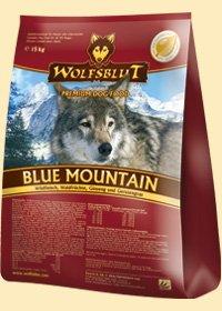 Blue Mountain Trockenfutter für Hunde mit Wildfleisch + Waldfrüchten 2x15kg (Doppelpack) Wolfsblut