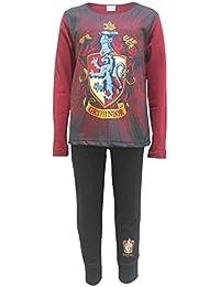 Harry Potter Gryffindor Big Girls Pajama Set 2-Piece Pajamas
