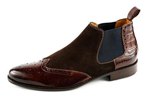 Melvin & Hamilton Herren Andrew 11 Chelsea Boots Braun