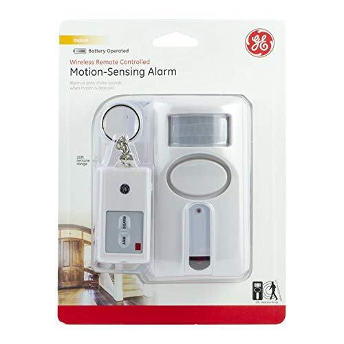 GE Wireless Remote Controlled Indoor Motion-Sensing - Alarm Motion Sensing