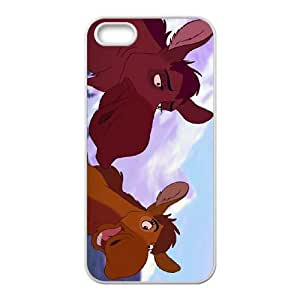 iPhone 4 4s Cell Phone Case Covers White Brother Bear 2 Character Anda D5771294
