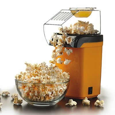 Brentwood Appliances PC-486Y Hot Air Popcorn Maker, Yellow