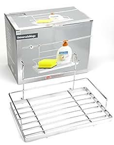Wenko Estante Universal barandilla estante botellero para sistema de barras para colgar