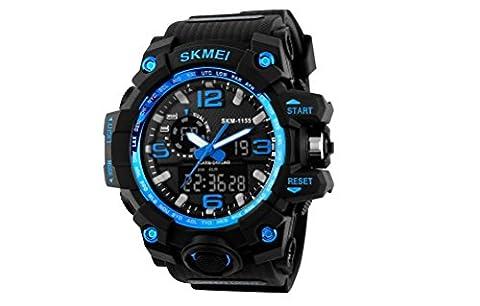 Relojes de Hombre Sport Water Resistant Watch Digital Men