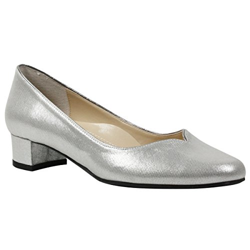 J.Renee Women's Bambalina Pump Silver free shipping sneakernews rPJLH1V