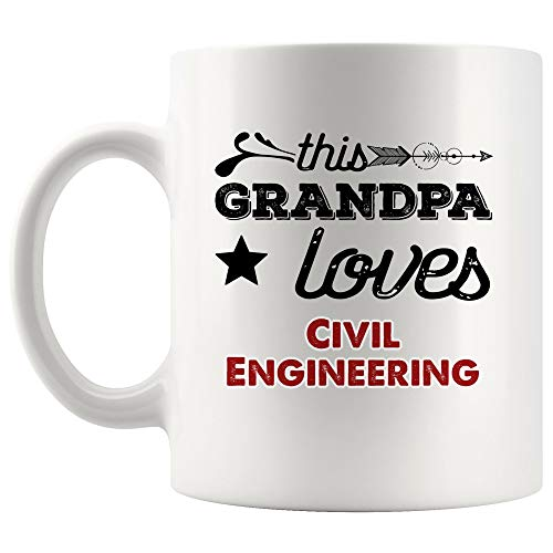 Civil Engineering Mug Coffee Cup | Thoughtful Gift For Students Classroom Civil Engineer Structural Geotechnical Design Project Manager Student School