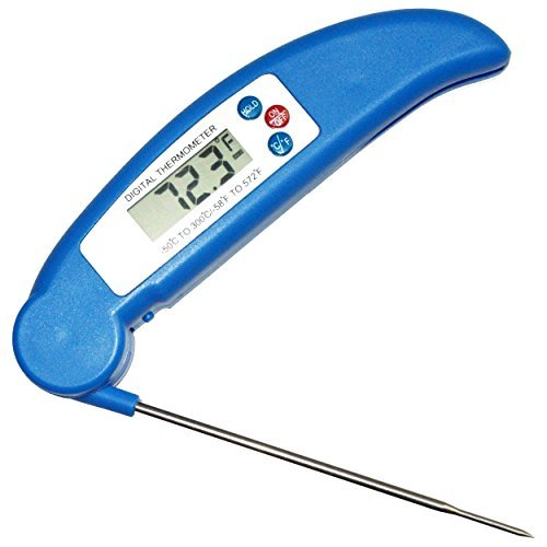 DigitalThermo | Accurate Quick Read Digital Meat Thermometer | Best for Cooking Turkey, Chicken, Meat & Fish in the Kitchen, Oven, BBQ & Grill | Candy & Baking | With Temperature Chart Fridge Magnet