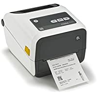 Zebra Technologies ZD42H42-C01E00EZ Series ZD420 Thermal Transfer Desktop Printer, Healthcare Model, 203 DPI, Ethernet Connectivity