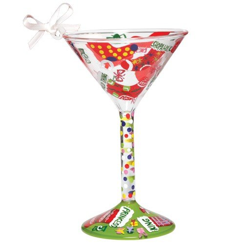 Santa Barbara Design Studio Lolita Holiday Mini-Tini Ornament, Stocking Stuffer