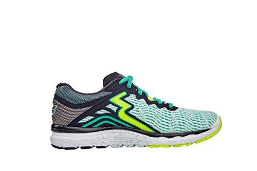 361 Mujeres Sensation 3 Running Shoe (11.0 B (m), Blanco / Ébano)