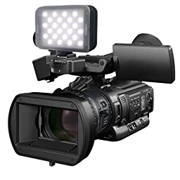 Lumos Trip Pro On-Camera LED Light with Lens, 100W Equivalent Tungsten, 3200K to 5600K