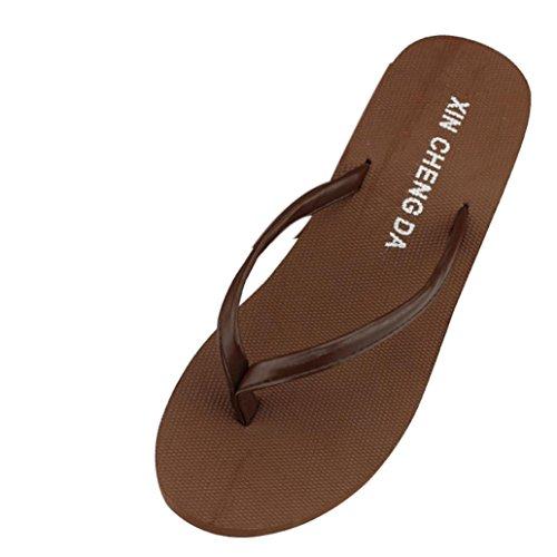 hunpta Sandalias Deportivas de Plástico Para Mujer marrón