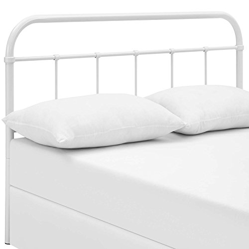 Serena Full Steel Headboard White - Modway