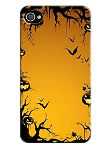 The Most fashionable New Style Halloween TPU Protects Case Cover for iphone 4/4s