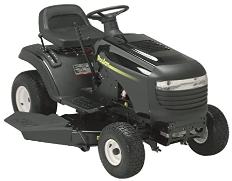 Amazon com: Poulan Lawn Tractor with 38-Inch Steel Deck, 15 5 HP