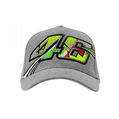 (Valentino Rossi Grey Vr46 Cap Pop Art Womens Snapback Cap (Default, Grey))