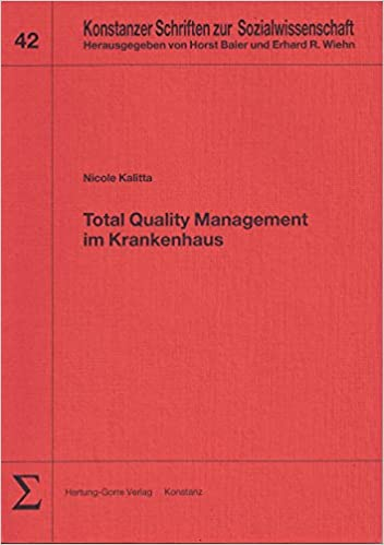 Total Quality Management Im Krankenhaus Livre En Allemand