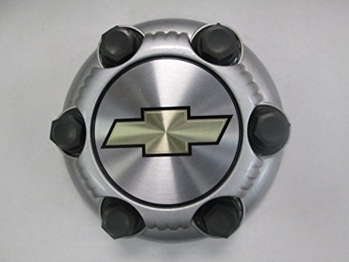 16 17 Inch OEM Chevy 6 Lug Silver Painted Center Cap Hubcap Wheel Cover, 1999-2013 # 15067578 5129 5129S Silverado Avalanche Express Suburban Tahoe Astro 1500 Truck Van Suv