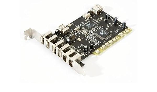 USB 2,0 COMBO tarjeta PCI Firewire + Cable OEM [Electrónica ...