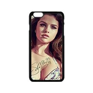 Selena Gomez Black Phone Case for iPhone6