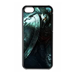 iPhone 5c Cell Phone Case Black League of Legends Full Metal Pantheon Ntcfz