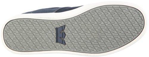 Supra Stacks S44006 - Zapatillas de ante para hombre Azul