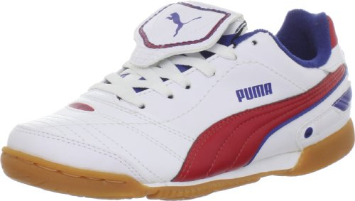 Puma Esito Finale IT JR Soccer Cleat ,White/Ribbon Red/Limog