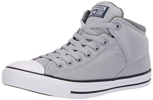 (Converse Men's Unisex Chuck Taylor All Star Street High Top Sneaker, Wolf Grey/Navy/Mason, 11 M)