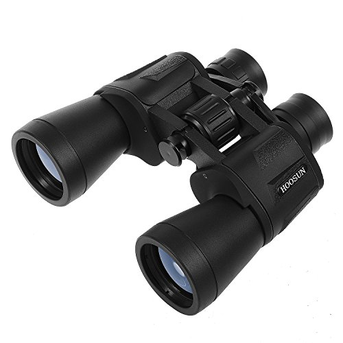 Super Precision Matte - HOOSUN Professional Watching Binoculars(10x50 HD) for Bird Watching, Traveling, Hunting, Sports Games,Outdoor Activities,Stargazing,Color True Magnification Optics Super Clear Telescopes