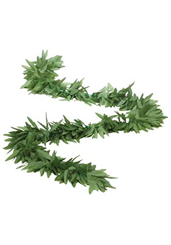 Forum Novelties Green Leaf Boa Adult, One-Size, Green