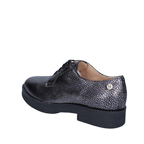 Para Zapatos De Liu Piel Cordones Jo Jeans Gris Mujer zqwPA