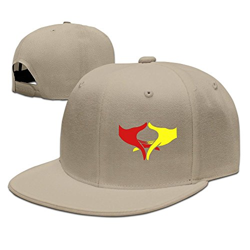 Show Time Freedom & Peace Gesture Hip Hop Running Cap Adjustable Flat Bill Cap Natural by Showtime
