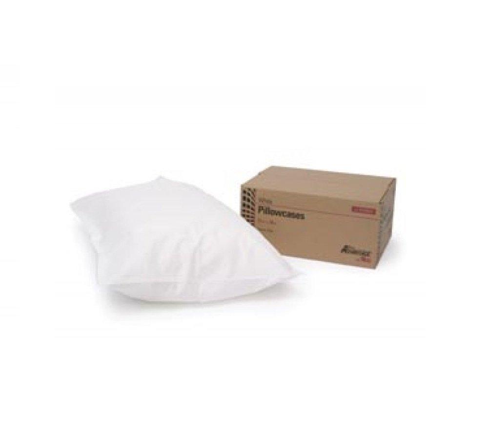 Pro Advantage Disposable Pillowcase - Tissue/Poly - 21''x 30'' 100/Cs - White