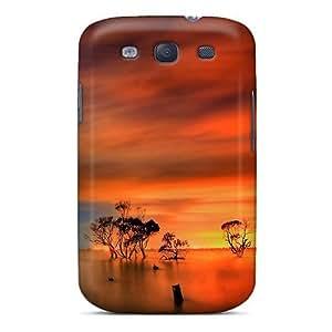 Cynthaskey GsYGfgO5989LALJy Case Cover Galaxy S3 Protective Case Sunset Horizon