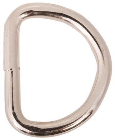 Baron BA-775 Steel D-Ring 1 1/2 Inside Diameter, .256 dia stock by Baron (Image #2)