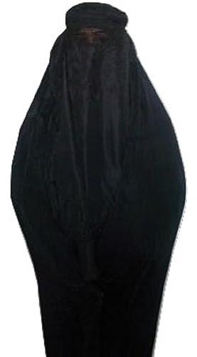 Auténtico afganos Ladies velo Burka Jilbab Abaya Afganistán Talibán velo Niqab–Free Size Cool Kaftans