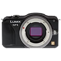 Panasonic DMC-GF5 12 MP Compact System Camera with 3-Inch Touch Screen BODY ONLY (Black) (International Model)