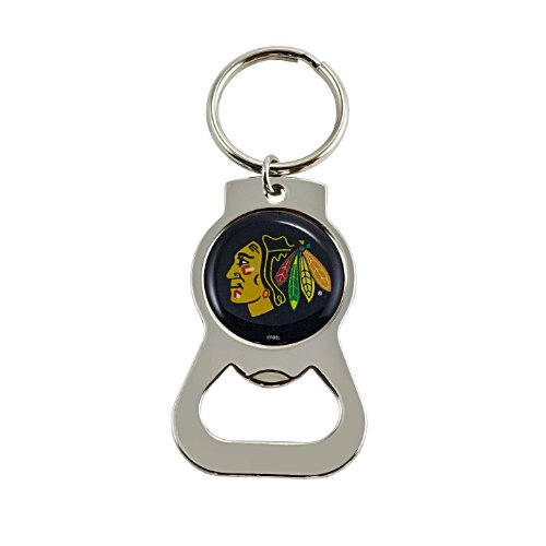 NHL Chicago Blackhawks Bottle Opener Key ()