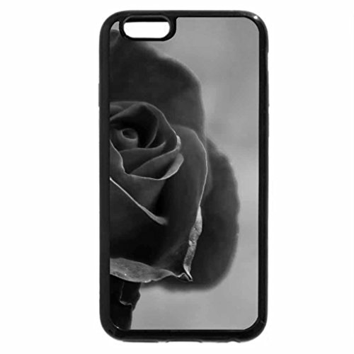 iPhone 6S Case, iPhone 6 Case (Black & White) - the rose