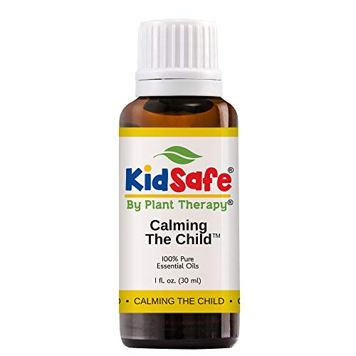 Plant Therapy Essential Oil | Calming the Child Synergy | Relaxing and Soothing Blend | 100% Pure, KidSafe, Undiluted, Natural Aromatherapy, Therapeutic Grade | 30 milliliter (1ounce)