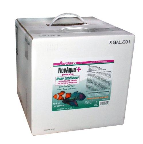 KORDON  #33175 NovAqua Plus for Aquarium, 5-Gallon by Kordon