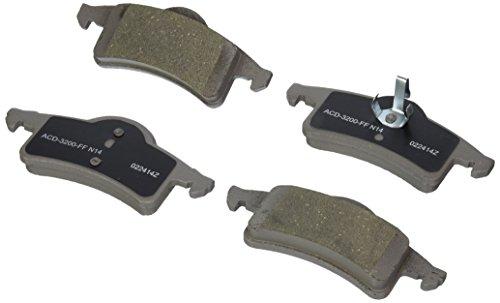 ACDelco 14D791C Advantage Ceramic Rear Disc Brake Pad Set