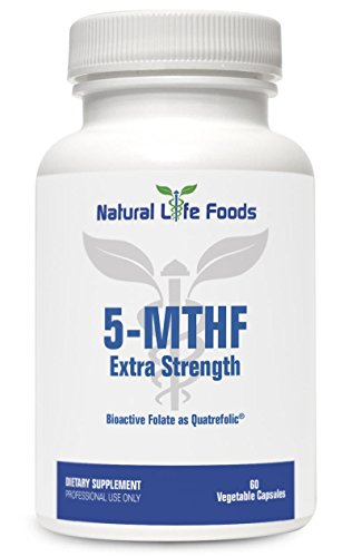 5-MTHF Extra Strength 10,000mcg vitamin by Natural Life Foods