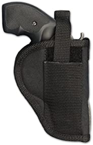 Barsony Holsters and Belts Charter Arms Rossi Ruger LCR S&W .22 .38 .357 Revolver Draw Outside The Waist B