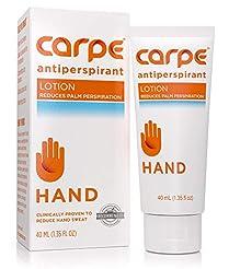 Carpe Antiperspirant Hand Lotion, A derm...