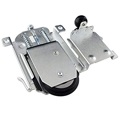online retailer 4efa5 3c2a9 Amazon.com: Fevas 2 Set Furniture Caster Wardrobe Door ...