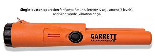 Detector de metales Garrett Pro Pointer en impermeable con tejido cinturón Holster y utilidad cinturón: Amazon.es: Jardín