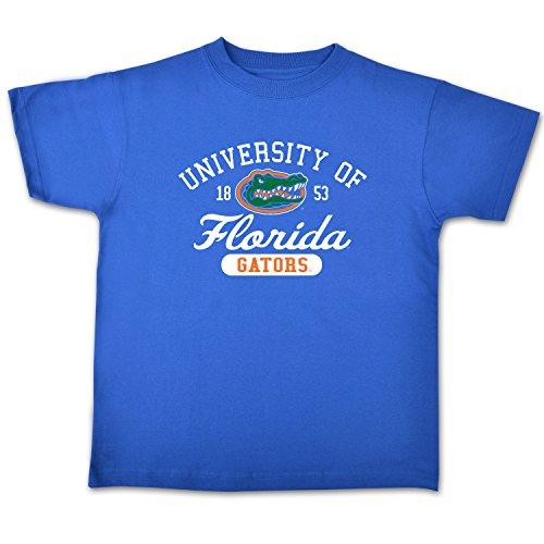NCAA Florida Gators Youth Short Sleeve Tee, Size 8-10 /Small, Royal (Gator Shirt Boys)